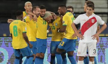Copa America: «Τεσσάρα» της Βραζιλίας στο Περού (vid)