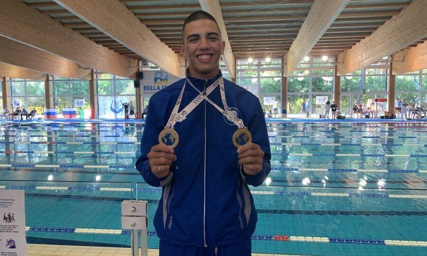 Τεχνική κολύμβηση: Τρία χρυσά μετάλλια και ένα χάλκινο στο Παγκόσμιο Πρωτάθλημα Εφήβων/Νεανίδων