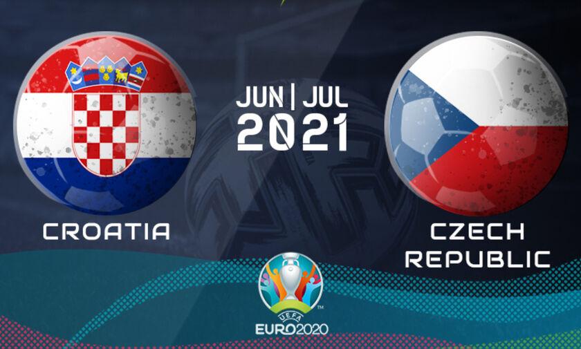 Live Streaming: Κροατία - Τσεχία (19:00)