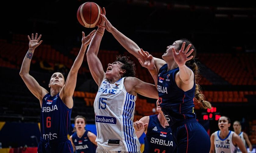 Ελλάδα - Σερβία 51-85: «Αιχμαλωσία»... (highlights)