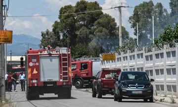 Ασπρόπυργος: Υπό έλεγχο η πυρκαγιά στο βυτιοφόρο