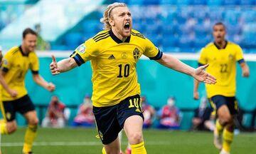 Σουηδία - Σλοβακία 1-0: Προσπέρασμα με πέναλτι του Φόρσμπεργκ (highlights)