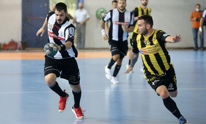 Handball Premier: Αναβλήθηκε ο πρώτος τελικός της ΑΕΚ με τον ΠΑΟΚ