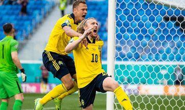 Σουηδία - Σλοβακία: Το πέναλτι του Φόρσμπεργκ για το 1-0 (vid)