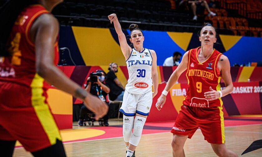 Ευρωμπάσκετ γυναικών: Η Ιταλία κέρδισε το Μαυροβούνιο, τι θέλει η Εθνική μας για να περάσει (vid)