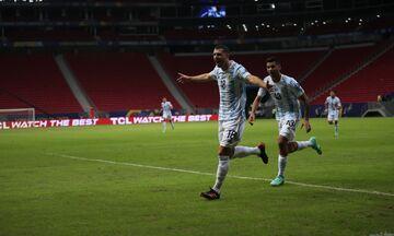 Αργεντινή - Ουρουγουάη 1-0: Άνοιξε λογαριασμό η «αλμπισελέστε» (highlights)