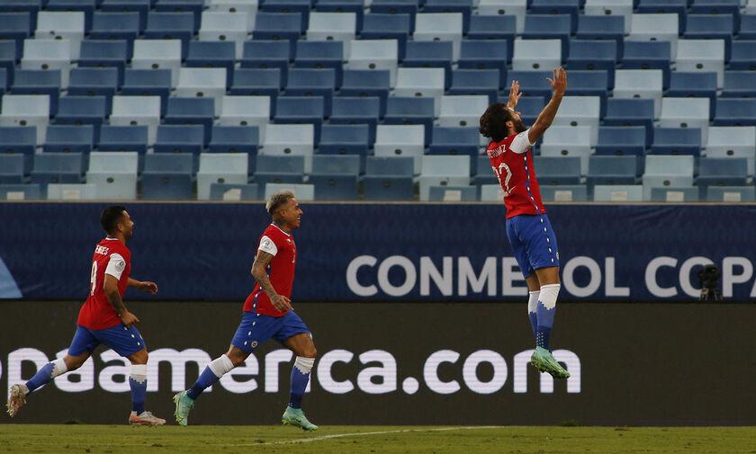Χιλή - Βολιβία 1-0: Έδωσε τη λύση ο Μπέρτον (highlights)