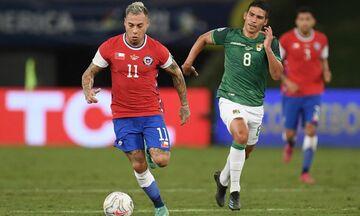 Copa America: Η Χιλή κάλυψε το σήμα της Nike με τη σημαία της! (pics)