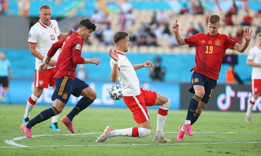 Euro 2020: Ισπανία – Πολωνία 1-1: Τα γκολ και οι φάσεις του αγώνα