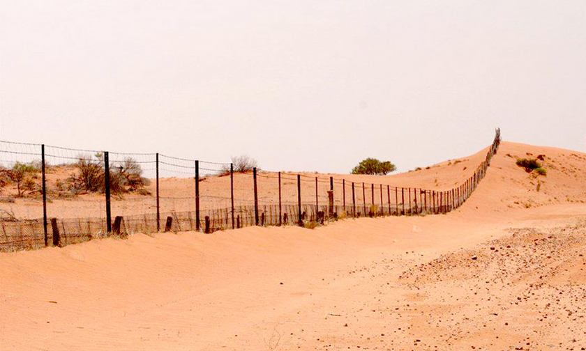 O εντυπωσιακός φράχτης του ντίνγκο στην Αυστραλία