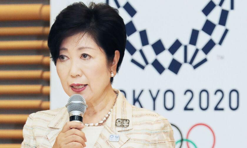 Ολυμπιακοί Αγώνες: Η κυβερνήτης του Τόκιο ακυρώνει ζώνες φιλάθλων και γιγαντοοθόνες