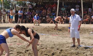 Πάλη σε άμμο: Αρχίζει το Πανελλήνιο Πρωτάθλημα στην Κατερίνη