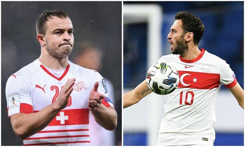 Ελβετία - Τουρκία 3-1: Tα γκολ και οι καλύτερες φάσεις (vid)
