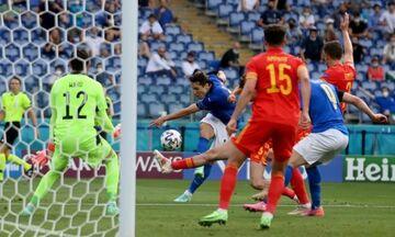 Ιταλία - Ουαλία 1-0: Το γκολ και οι καλύτερες φάσεις (vids)