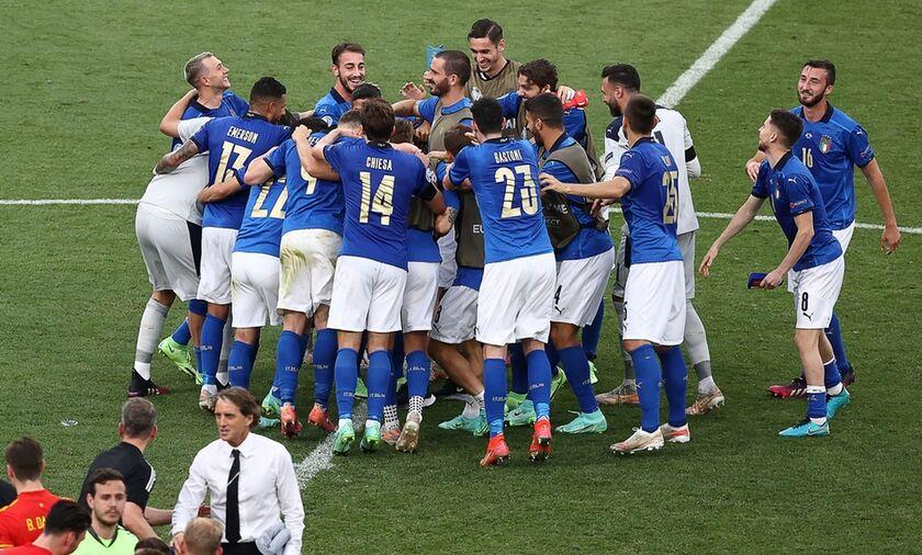 Η Ιταλία του Μαντσίνι ισοφάρισε ρεκόρ 82 χρόνων
