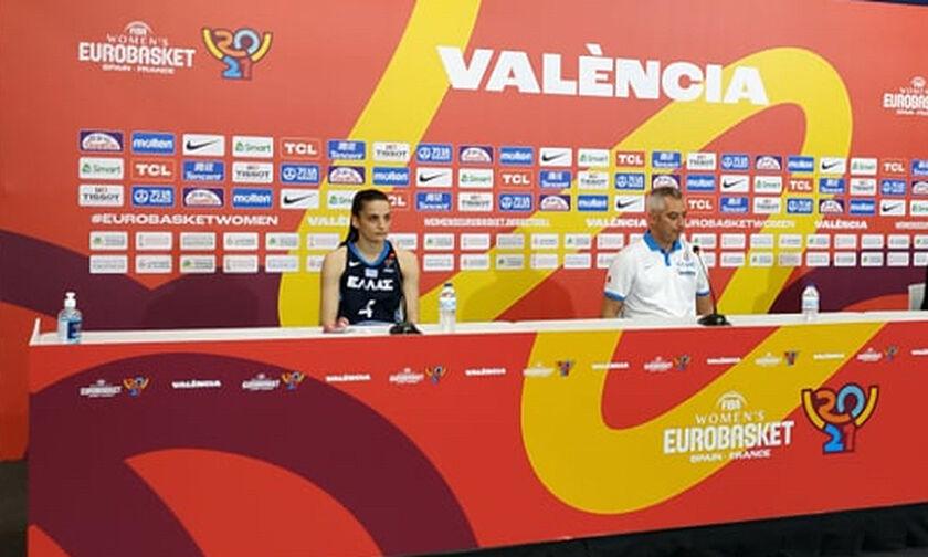 Eurobasket 2021: Μασλαρινός, Σταμολάμπρου για τον αποκλεισμό (vid)