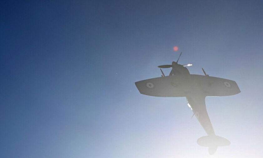 Πτώση εκπαιδευτικού αεροσκάφους στη περιοχή της Χαριάς Ηλείας