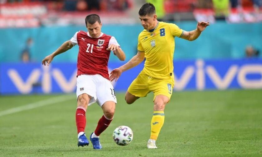 Ουκρανία - Αυστρία: Το γκολ και οι καλύτερες φάσεις του αγώνα (vids)