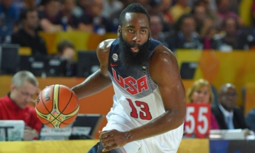 """Ο Χάρντεν θα δώσει το """"παρών"""" στην Team USA στους Ολυμπιακούς Αγώνες"""