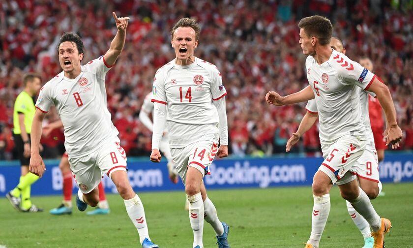 Ρωσία - Δανία 1-4: Κατασπάραξε την «Αρκούδα» και προκρίθηκε στους «16»! (highlights)