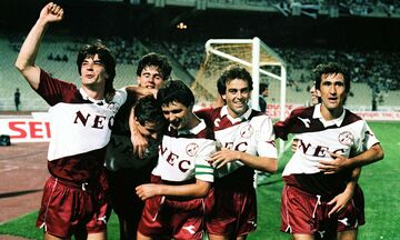 Όταν η ΑΕΛ συνέτριψε τον πρωταθλητή ΠΑΟΚ και σήκωσε το Κύπελλο Ελλάδας (vid)
