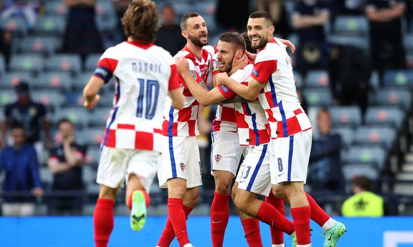 Euro 2020: Κροατία - Σκωτία 3-1: Τα γκολ και οι φάσεις του αγώνα