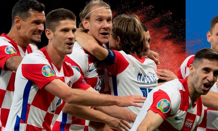 Euro 2020: Κροατία - Σκωτία 3-1: Πανηγυρική πρόκριση για τους Κροάτες (highlights)