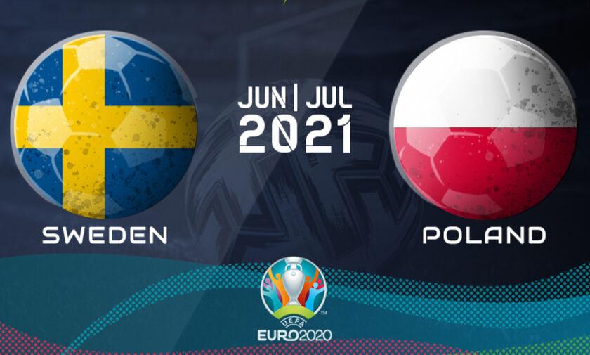 Live Streaming: Σουηδία - Πολωνία (19:00)