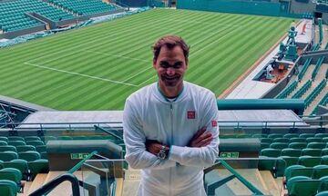 Wimbledon: Έτοιμος για την επιστροφή του ο Φέντερερ! (pic)
