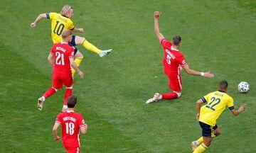 Euro 2020: Σουηδία - Πολωνία 3-2: Γκολ και οφάσεις του αγώνα