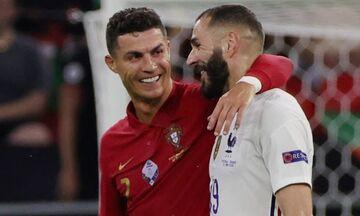 Πορτογαλία - Γαλλία 2-2: «Χ»έρι - χέρι στους «16» με  Ρονάλντο και Μπενζεμά (highlights)!