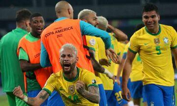 Copa America: Νίκη στο 100ό λεπτό για τη Βραζιλία - Ισόπαλοι Περού και Εκουαδόρ (vids)