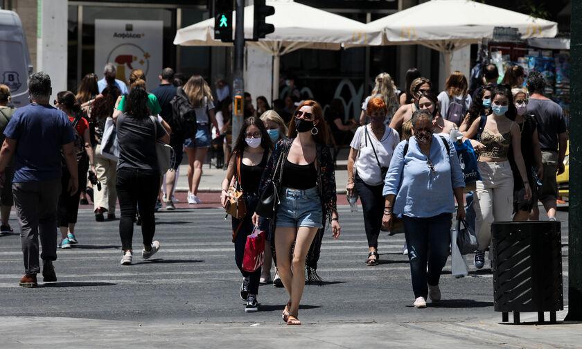 Κορονοϊός: Χωρίς μάσκα από σήμερα σε εξωτερικούς χώρους - Όλα τα νέα μέτρα