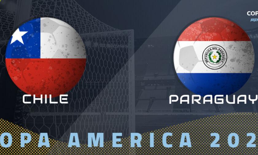 Live Streaming: Χιλή - Παραγουάη (03:00)