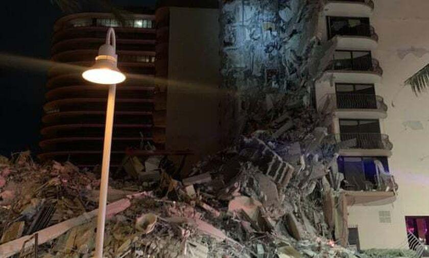 Μαϊάμι: Κατάρρευση τμήματος πολυώροφου κτηρίου - Πληροφορίες για θύματα