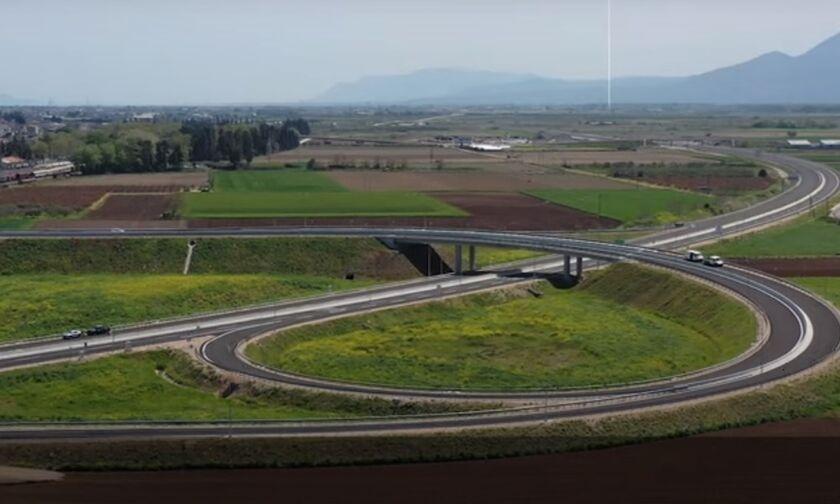 Αυτοκινητόδρομος Ε65: Βόλτα μετά τη Λαμία για να δούμε την πρόοδο του έργου (vid)