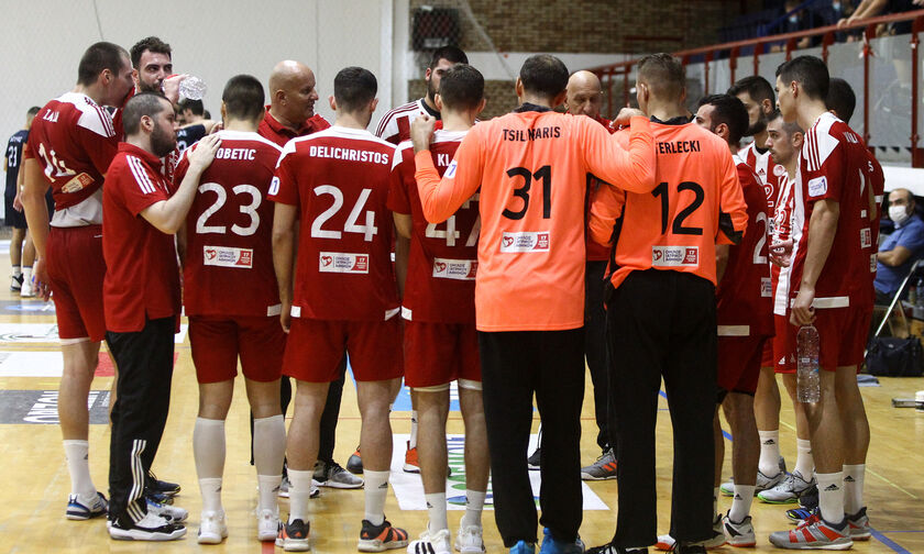 Handball Premier: Ξεκινά από το -4 ο Ολυμπιακός