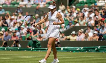 Wimbledon: Αποσύρθηκε η Χάλεπ!