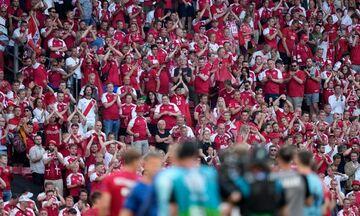 Εuro: Στους 13 έφτασαν οι θετικοί στον κορωνοϊό Δανοί οπαδοί που βρέθηκαν στο Πάρκεν της Κοπεγχάγης