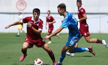 Super League K19: Νικηφόρο φινάλε για Ολυμπιακό, 2-0 την ΑΕΛ