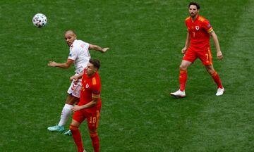 Ουαλία - Δανία: Γκολ και καλύτερες φάσεις του αγώνα (vids)