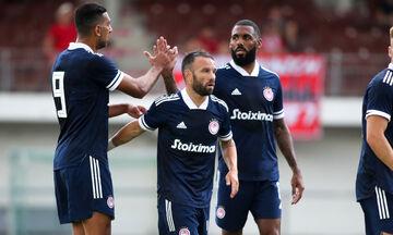 Ολυμπιακός - Βολφσμπέργκερ: Το γκολ του Χασάν για το 1-0 (vid)