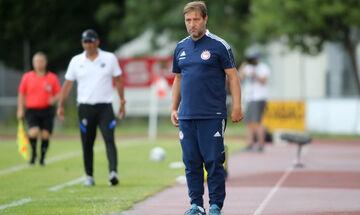 Βολφσμπέργκερ – Ολυμπιακός 0-1: Μαρτίνς: «Είδαμε πράγματα που μας άρεσαν, κυρίως στο β' μέρος»