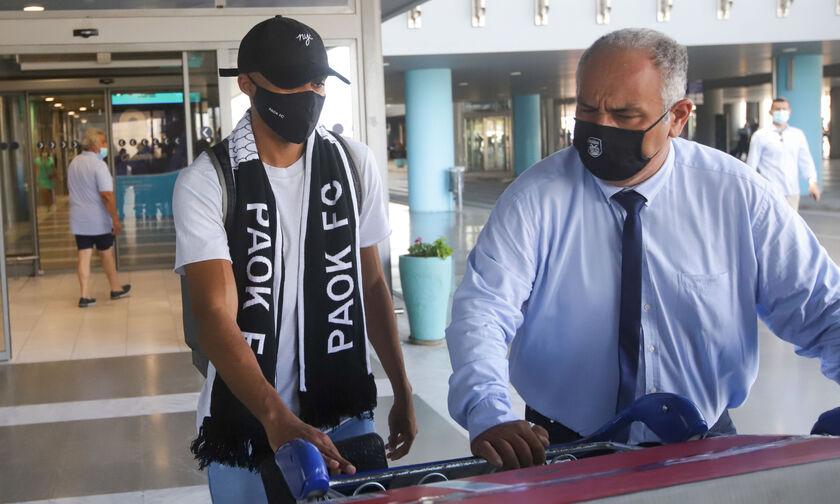 ΠΑΟΚ: Έφτασε ο Λούκας Τέιλορ στην Θεσσαλονίκη