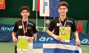 Πινγκ Πονγκ: Δύο χάλκινα η Ελλάδα στο Βαλκανικό Πρωτάθλημα (pic)