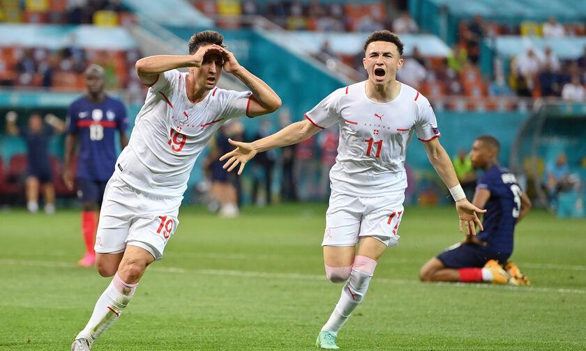 Euro 2020: Γαλλία – Ελβετία 3-3 (4-5 πέναλτι): Η μπίλια έκατσε στο κόκκινο (highlights)