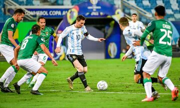 Copa America: Πρώτη η Αργεντινή με «4άρα» - 2η στον όμιλο η Ουρουγουάη! (vids)