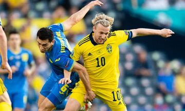 Euro 2020: Σουηδία - Ουκρανία 1-2: Ιστορική πρόκριση για τους Ουκρανούς (highlights)