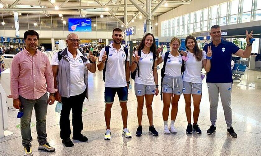 Κωπηλασία: Αναχώρησε για το Τόκιο η Ολυμπιακή ομάδα