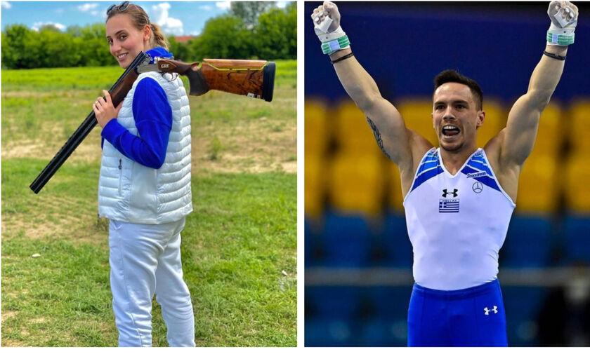 Ολυμπιακοί Αγώνες: Σημαιοφόροι της ελληνικής αποστολής η Κορακάκη και ο Πετρούνιας